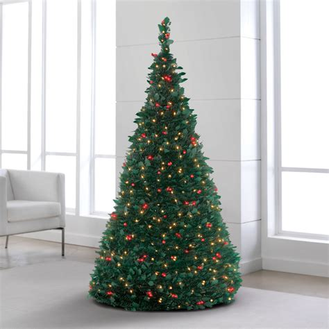 pre lit pull up christmas tree shop brookstone for christmas