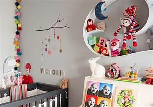 Chambre Bébé Moderne : chambre bebe fille moderne ~ Melissatoandfro.com Idées de Décoration