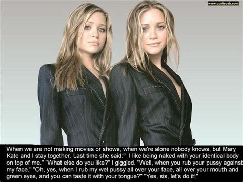 Olsen Twins Captions Whore - The Olsen Twins Lesbian Incest Captions Fetish Porn Pic | CLOUDY GIRL PICS