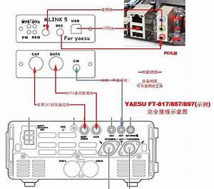 Usb Pc Linker Adapter For Yaesu Ft 857  897 Icom Ic