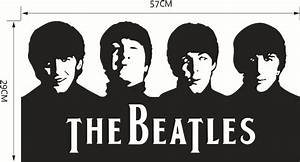 Ome Decor Wall Sticker The Beatles Band Abbey Road Wall