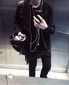 Fashion // black // grunge // androgynous | Pulchram Populus | Pinterest | Black grunge ...