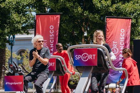sir richard branson encouraging healthy habits virgin sport