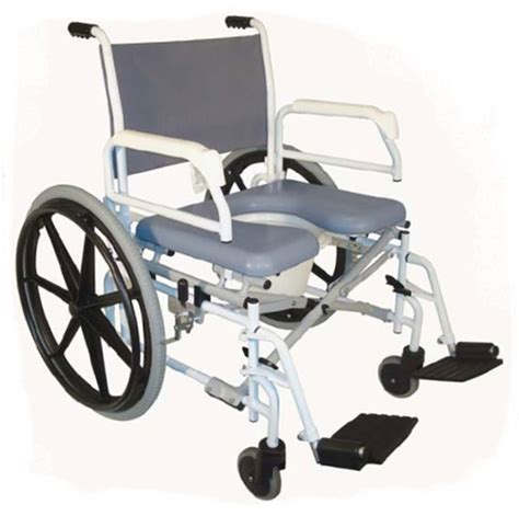 tuffcare bariatric s990 commode shower chair heavy duty