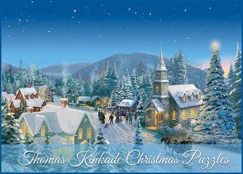 homeade lifesize thinas kinkade christmas tree kinkade puzzles kinkade puzzles kinkade
