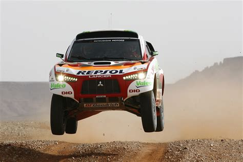 mitsubishi dakar 2008 dakar rally motor sports mitsubishi motors japan