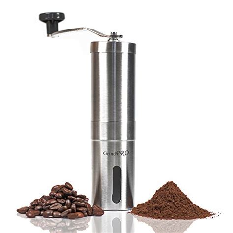 The bodum bistro electric burr coffee grinder is a not a 10/10 coffee grinder. Hand Coffee Grinder- GrindPro- TOP RATED Manual Conical Burr Coffee Grinder Coffee and TEA ...