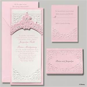 Occasions to blog disney wedding invitations from for Disney collection wedding invitations