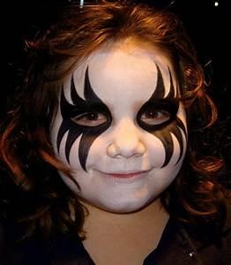 Maquillage D Halloween Pour Fille : maquillage d halloween fille maquillage halloween enfant garcon fille accueil design ~ Melissatoandfro.com Idées de Décoration