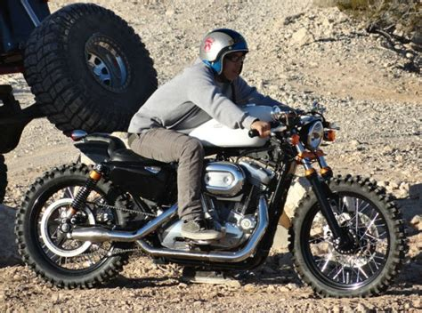 Aggressive, Off-road Style 2007 Harley Davidson Sportster