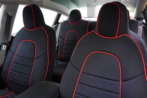 3 Seat Covers by Seat Covers Tesla Model 3 Evannex Aftermarket Tesla