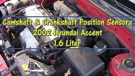 replace camshaft crankshaft position sensors