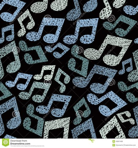 In music, a motif (pronunciation) ipa: Music Theme Seamless Pattern With Notes, Repeating Vector Background With Hand Drawn Lines ...