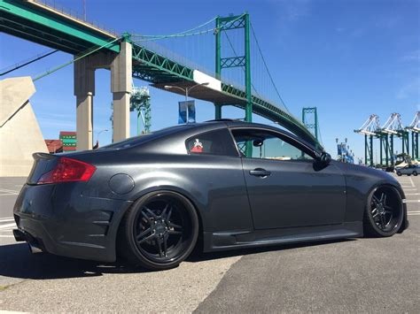 infiniti  coupe sspeed rear bumper strictly