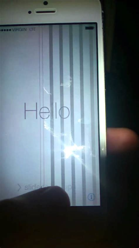iphone 5 touch screen not working after screen replacement grey lines on iphone 5 screen help