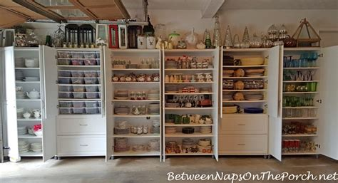 Tablescaping Storage Ideas For Dishware, Flatware, Napkin