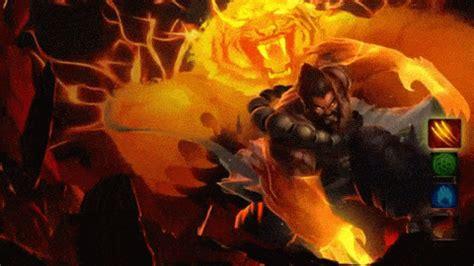 Spirit Guard Udyr Animated Wallpaper - udyr tứ linh vệ hồn login animated gif