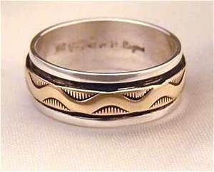 native american wedding band ideas With go traditional with native american wedding rings