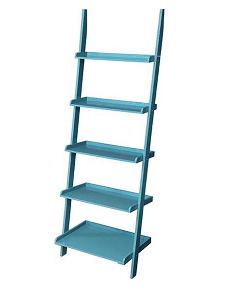 teal blue ladder shelf country blue bookshelf ladder everything turquoise 6020