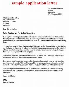 job application letter example how to write a job With how to make cover letter for applying job