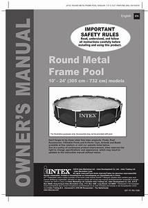 Intex Pool Pump Manual