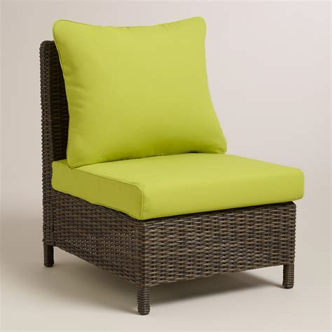 armless chair slipcover apple green solano sectional armless chair slipcover