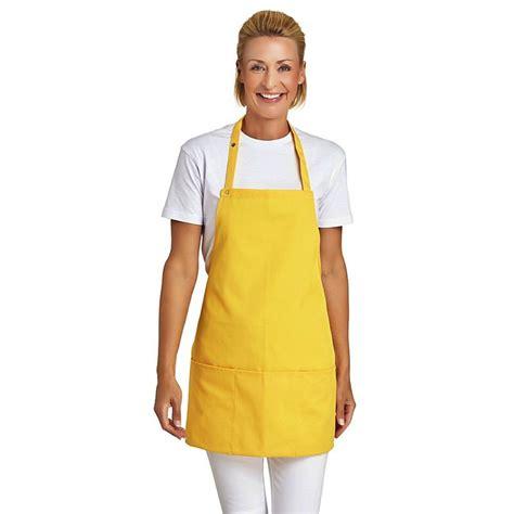 tablier de cuisine professionnel tablier 224 bavette 3 poches bretelles r 233 glables longueur 65 cm