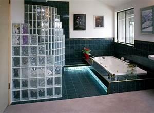 Mur En Brique De Verre Salle De Bain : brique verre salle de bain ~ Dailycaller-alerts.com Idées de Décoration
