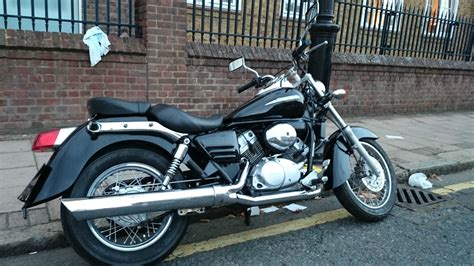 honda shadow 125 honda shadow vt 125 black custom cruiser not suzuki