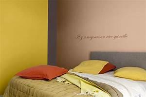 Peinture Chambre Adulte 2 Couleurs : 64 couleurs peinture pour peindre salon chambre ~ Zukunftsfamilie.com Idées de Décoration