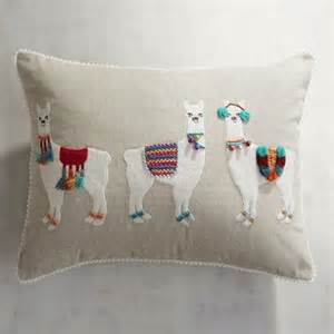 llama party lumbar pillow pier 1 imports