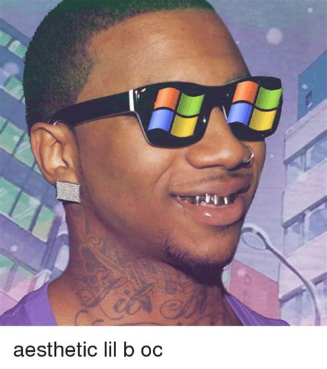 Aesthetic Meme - aesthetic lil b oc lil b meme on me me