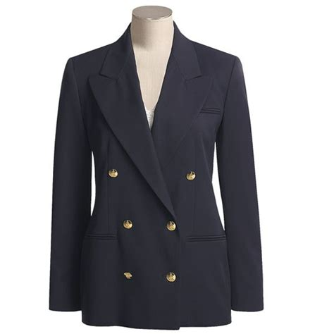 austin reed brass button blazer double breasted