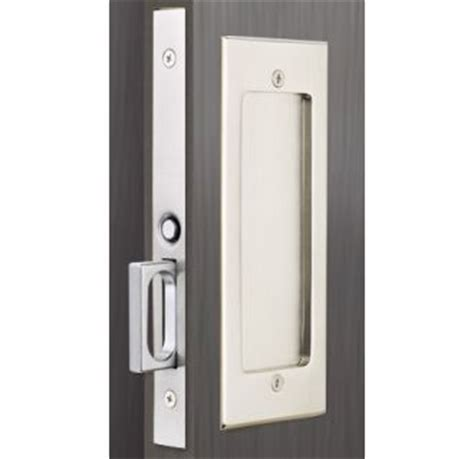 emtek pocket door hardware emtek pocket door locks build shop passage privacy