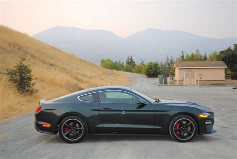 san francisco treat  ford mustang bullitt test drive