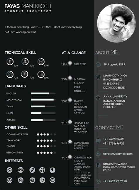 Portfolio Cv by Pin By Shamees Ismail On Resume Architecture Portfolio