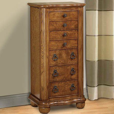 jewelry armoire walmart jewelry armoire distressed oak walmart