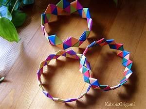 Basteln Mit Papierstreifen : origami bracelet armband origami origami f r ~ A.2002-acura-tl-radio.info Haus und Dekorationen