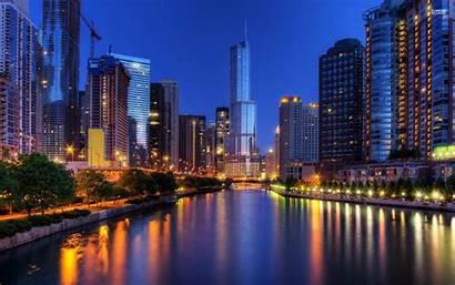 Desktop Illinois University Chicago Skyline