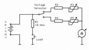 Battery Tester Wiring Diagram : very simple diy battery tester schematics construction ~ A.2002-acura-tl-radio.info Haus und Dekorationen