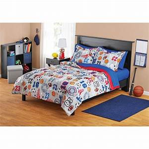 Your, Zone, Sports, Bed, In, A, Bag, Coordinating, Bedding, Set