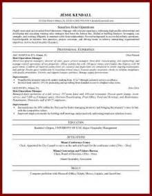 Food Service Resume Objective Samples