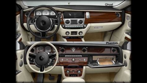 rolls royce phantom interieur rolls royce phantom vs ghost interior and exterior pics