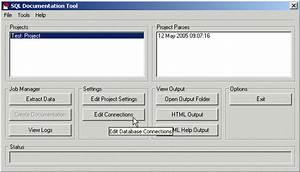 Sql documentation tool windows 8 downloads for Sql server database documentation tool free