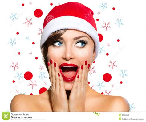 christmas woman royalty free stock photos image 35653038