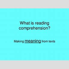 Reading Comprehension By Kasey1  Teaching Resources Tes