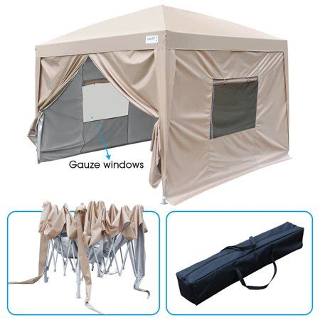 upgraded quictent  ez pop  canopy gazebo party tent
