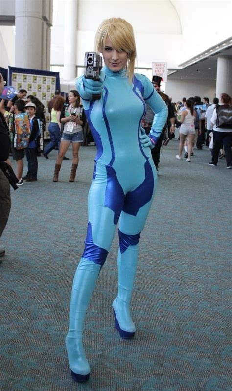 Zero Suit Samus From Super Smash Bros Brawl Halloween