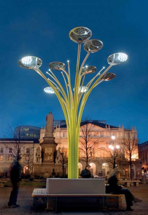 solar tree lights environment