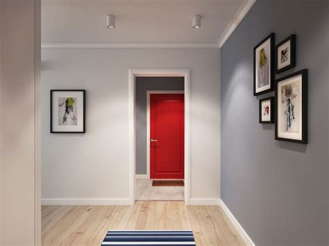 apartment door design going scandinavian in style space savvy apartment in moscow